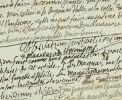FRAGMENT DE MANUSCRIT AUTOGRAPHE INÉDIT.. Nicolas-Edme Rétif de la Bretonne [Restif de la Bretone]