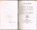 COLLECTION DE RELATIONS DE VOYAGES. Voyages de Stanislas, de Dantzick à Marienwerder. - De Mesdames Tantes du Roi, à Rome en 1791. - De Louis XVI à ...