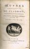 OUVRES COMPLET[T]ES DE CLAUDIEN, traduites en françois pour la première fois, avec des Notes Mythologiques, Historiques et le texte latin. [Trad. ...