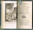ÉTUDES de LA NATURE. Troisième édition, Revue, corrigée & augmentée. (Tomes I à IV).. SAINT-PIERRE (Bernardin de)