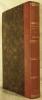 MA BIOGRAPHIE, ouvrage posthume de P.J. de BERANGER, avec un appendice orné d'un portrait en pied dessiné par Charlet.. BERANGER P.J. de