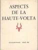 ASPECT DE LA HAUTE-VOLTA. AFRIQUE