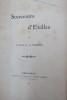 SOUVENIRS D'EXILLES. MIRIBEL Comte de