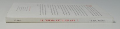Le cinéma est-il un art?. SALACHAS Jean-Baptiste & Gilbert