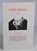 (Revue) Plein chant n°35. Portraits et autres. (Collectif) Paule La Chênaie - Antoine Carrot - François Mary - Jean-Damien Chéné - Eric Rouzaut - ...