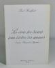Le désir (les désirs) dans l'ordre des amours, d'après Raymond Queneau . BRAFFORT Paul