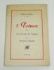 5 poèmes, avec un portrait de l'auteur par Francis Picabia. MASSOT Pierre de