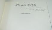 Zao Wou-Ki, 1984. ZAO WOU-KI - DUBY Georges