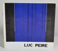 Luc Peire - Exposicion del 24 de Marzo al 20 de Abril de 1981. PEIRE Luc - DE LA CALLE Roman - XURIGUERA Gérard