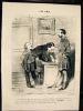 Les Amis. Daumier (Honoré)
