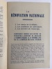 La Rénovation Nationale. Conférence donnée aux élèves du pensionnat Godefroy de Bouillon à Clermont-Ferrand, le 19 novembre 1940 par l'Aumônier ...