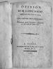 Ensemble de 15 pièces relatif à l'Hôtel des Invalides ; discussions, projets, rapports pour le réformer ou même le détruire..