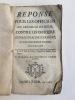 Réponse pour les officiers du présidial de Riom, contre les officiers du présidial de Clermont, au sujet de la justice d'Issoire, contenant des ...