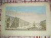 Vue perspective de la grande place de St François à Séville.. Vue d'Optique du dix-huitième siècle