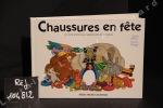 Chaussures en fête, un livre animé pour apprendre les couleurs (Pop-up). ANONYME
