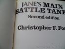 Jane's main battle tanks. Second edition.. Christopher F. Foss