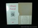 Album Pascal. Iconographie réunie et commentée par Bernard Dorival.
