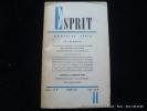 Esprit N°11. La sexualité. Esprit