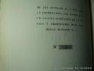Le fils de la servante. Histoire d'une âme. (1867-1872) II Fermentation. Un des 15 ex. sur pur fil Lafuma. Seul grand papier.. Strindberg A. Trad C. ...