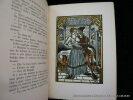 Le roman de François Villon. Francis Carco. Bois gravés en couleurs de Léon Lébédeff.