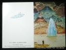 Carte postale double A2 - 2 MOEBIUS La lagune au cristal. Moebius