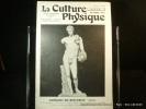 La Culture Physique Octobre 1927, n° 450. AANtinoüs du Belvédère (Rome). La Culture Physique