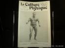 La Culture Physique Janvier 1937, n° 561. L'athlète Zwahlen. La Culture Physique