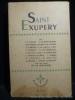 Saint-Exupéry. Revue Confluences n°12-13-14. L. P. FARGUE . S. DE SAINT.EXUPERY - B. CENDRARS- L. WERTH- L. M. CHASSIN A. R. METRAL -  . P. DE LANUX . ...