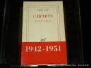 Carnets** janvier 1942 - mars 1951. Camus Albert