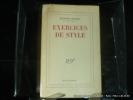 Exercices de style. 30e éd.. Queneau Raymond