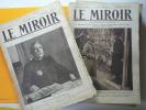 Le Miroir, publication hebdomadaire, couvrant la première guerre mondiale, du numéro 37 (9 août 1914) au n°284 (4 mai 1919).. Le Miroir