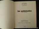 Les automates. Précédé de Rouages de l'automate par André Pieyre de Mandiargues.. Prasteau Jean