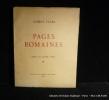 Pages Romaines. Sépias de Louise Vitry. Faure Gabriel