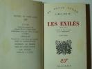 Les exilés (Exiles) 3 actes.. JOYCE James. Trad. J.S. Bradley.
