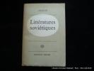 Littératures soviétiques. Signatures d'Aragon et de Madeleine Renaud.. Louis ARAGON