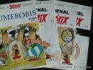 Le Journal d'Astérix du Numérobis au n°7, complet du Numérobis, automne 1991.. Bernard de Choisy.