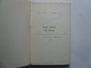 Lettre ouverte aux voyous. Sympathique envoi de l'auteur  à P.L. Darnar du Dauphiné Libéré.. SIMONIN Albert