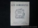 Les Humoristes N°7 : Hommage à Willette. Bulletin trimestriel de la Société des Dessinateurs Humoristes.. WILLETTE Adolphe