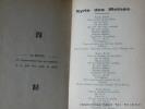 CHANSONS ESTUDIANTINES : Kyrie des mines, La femme du Roulier, Les moines de Saint-Bernardin, Ma femme est morte, A Gennevilliers, Troulala, la ...
