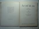 La soif du jonc. Poème de Tiggie Ghika orné de trois pointes sèches par Jacques Villon. GHIKA Tiggie - VILLON Jacques