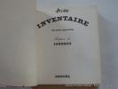 Inventaire 104 objets apprivoisés.. Philippe. Préface de Ionesco.