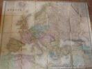 Carte de l'Europe en 1876. Publiée par  E. Andriveau-Goujon. Dressée par E. Desbuissons.. Andriveau-Goujon