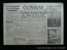 Combat De la Résistance à la Révolution. 5e année n°323 Mercredi 02 juin 1945.. Collectif. Directeur gérant : Pascal Pia.