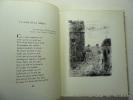 La Diane française.  Poèmes par Aragon . Avec 25 lithographies de Valdo Barbey. . ARAGON