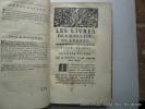 Deux Traitez de S. Augustin. Les Livres de l'Ordre et les Livres du Libre Arbitre, traduits en françois sur la nouvelle édition latine des Peres ...