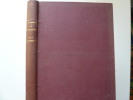 La Montagne. Revue Officielle du Club Alpin Français. Année complète 1933, Volume I. 59e année : IVe série. Rédacteur en chef : Pierre Dalloz Club ...