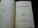 ESPACES. Epaisseurs - Vulturne. 5e éd. . Léon-Paul Fargue