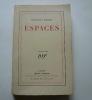 ESPACES. Epaisseurs - Vulturne. 4e éd. . Léon-Paul Fargue