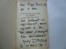 Jean-Claude Bouttier : un poing, ce n'est pas tout. Exemplaire enrichi d'un envoi autographe signé de l'auteur et de J.-C. Bouttier. Andy Dickson. ...