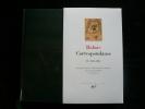 Correspondance II  1836-1841. Balzac. Edition établie, présentée et annotée par Roger Pierrot et Hervé Yon.